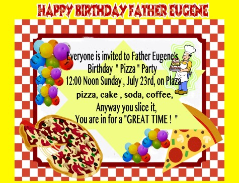 EEveryone is invited father eugene party